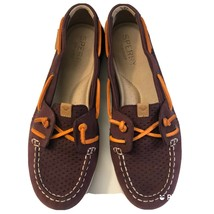 sperry top sider coil ivy grape boat shoes leather women's sts89627 size... - $26.82