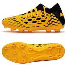 Puma Future 5.3 Netfit HG Football Shoes Soccer Cleats Boots Yellow 10579602 - $89.99