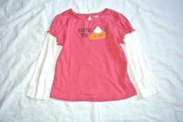 Gymboree Fall Homecoming Cutie Pie Pink 3T top tee shirt - $13.81