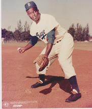 Jackie Robinson FS Brooklyn Dodger Vintage 8X10 Color Baseball Memorabilia Photo - $4.99