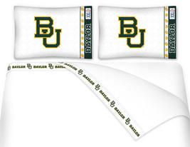 Microfiber Sheet Set NCAA Baylor Bears Sheets TWIN FULL QUEEN KING - $66.49+