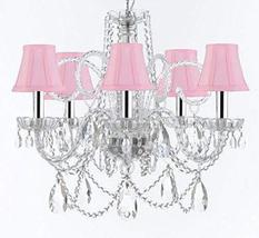 Murano Venetian Style Chandelier Crystal Lights Fixture Pendant Ceiling ... - $257.73