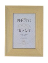 "2 X STUDLEY LIGHT WOOD VENEER TO HANG OR STAND GLASS PHOTO FRAMES 6"" X 4"" - $23.53"
