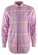 Polo Ralph Lauren Men's Big and Tall Oxford Plaid Shirt-P-XLT - $77.12