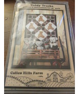 "Calico Hill Farm Teddy Track 40"" Quilt - $7.99"