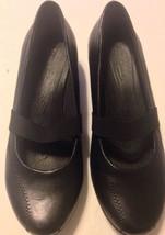 Womens G.H BASS & CO. Black Clogs Size 6.5 M Shoes - $18.04