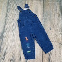 DISNEY sz 24 mos toddler boys Lion King embroidered blue corduroy overal... - $10.00