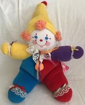 "Russ CoCo the CLOWN 8"" Plush Doll Luv Pets Vintage Stuffed w/Tag Item 2568 - $13.85"