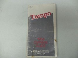 1984 Ford Tempo Owners Manual 15933 - $12.86