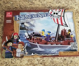 Pirate Ship Building Block Set 187 PCS! - $37.04