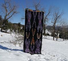 BUTTERFLY Rug | Moroccan Vintage Boucherouite rag rug | Berber Rugs - $289.00