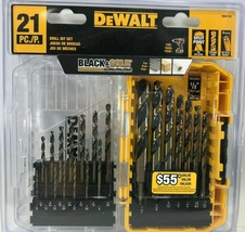 DeWalt - DWA1181 - Black and Gold Drill Bit Set - 21-Piece - $39.55