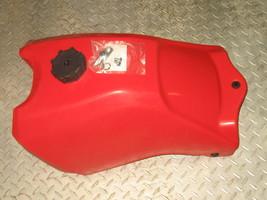 HONDA 1988-1992 TRX300 300 4TRAX NEW PLASTIC FUEL GAS TANK RED FT49300R - $140.63