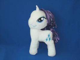 "My Little Pony Hasbro Rarity White & Purple Plush Toy 12"" - $9.90"
