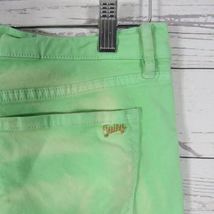 Juicy Couture Womens Jeans Size 30 Green Bleach Wash Pants image 4
