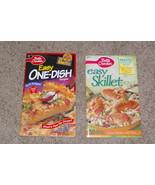 Lot of 2 Betty Crocker Cookbooks One Dish Easy Skillet Paperback - $10.00