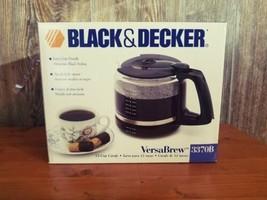 NEW Black & Decker 3370 Replacement Coffee 12 Cup Carafe VersaBrew BLACK - $18.95
