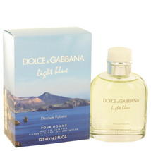Light Blue Discover Vulcano by Dolce & Gabbana Eau De Toilette Spray for... - $63.99
