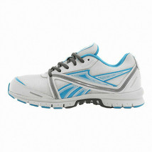 Reebok Women's Ultimatic Running Shoes NEW AUTHENTIC White/Blue/Grey J95184 - $52.99