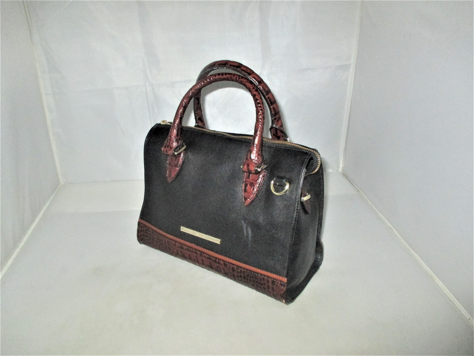 Brahmin Tuscan Tri-Texture Anywhere Convertible Satchel, Shoulder Bag,Tote $255 image 4