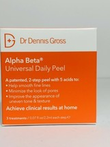 DR. DENNIS GROSS - Alpha Beta Universal Daily Peel (3 treatments, sealed) - $11.75