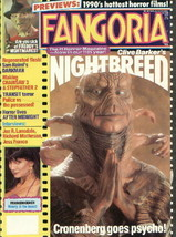 Fangoria Horror Magazine #90. Nightbreed 1990 VERY FINE- - $6.89