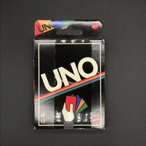 Mattel UNO Playing Card Game Retro Edition Ages 7+ & 2-10 Players NEW -OF - $14.50