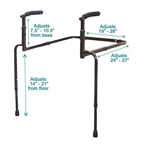 Able Life Universal Stand Assist - Adjustable Standing Mobility Aid + Assist Han