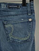 Rock & Republic Roth Vapor Crystal Blue Jeans 26 USA 3207 Womens - $44.45