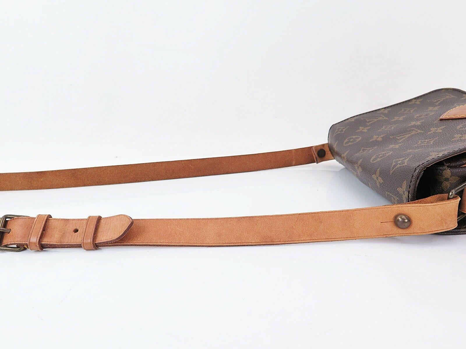 Auth Vintage LOUIS VUITTON Cartouchiere MM Monogram Shoulder Bag Purse #30980