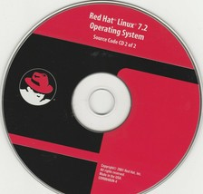 Red Hat LINUX 7.2 Operating System, Source Code CD ~ 2001 - $14.21