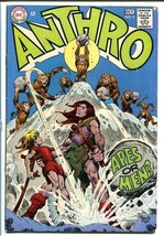 Anthro #2-DC Stone Age Cave Man comic-1968 VG - $18.62