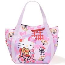 8cb6ac143 Hello Kitty Tote Bag Mather's Bag Sanrio Japan Kawaii Kimono New F