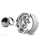 "PAIR-Anchor Fouled Vintage Steel Screw In Ear Tunnels 20mm/13/16"" Gauge ... - $16.99"