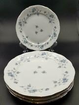 "Lot of 4 - Johann Haviland (Bavaria Backstamp) Blue Garland 7 3/4"" Salad Plates - $17.81"