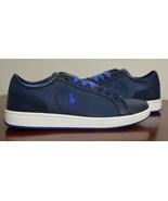 Polo Ralph Lauren Men TREVOSE LOW Sneakers Shoes Navy 10, 10.5 - $59.98