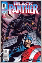 Black Panther 9 NM/M 9.8 Marvel Knights 1998 2nd Series Captain America  FREE SH - $8.95