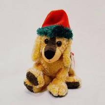 "Jinglepup Christmas Puppy Ty Beanie Babies Plush Stuffed Animal 6"" 2001 ... - $18.99"