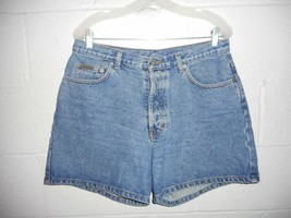 "Women's Vintage 90s Calvin Klein Denim Jean Button Fly Shorts 32"" Waist ... - $24.99"