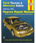 Haynes Automotive Repair Manual 36074 Ford Taurus Mercury Sable 1986-1995 - $12.00