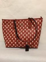 NWT Coach Badlands Floral City Zip Tote Handbag in Carmine Multi F 38161... - $154.28