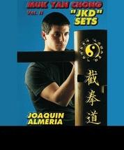 European Wooden Wing Chun Dummy Jeet Kune Do Sets DVD Joaquin Almeria - $28.00