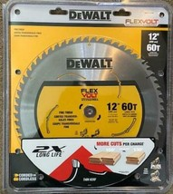 "Dewalt DWAFV31260 FLEXVOLT 12"" x 60 Tooth Carbide Saw blade - $48.51"