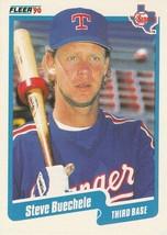 1990 Fleer #292 Steve Buechele - $0.50