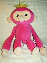 2018 WowWee Pink Bella Monkey Fingerlings Interactive Huggs Plush Animal... - $9.47