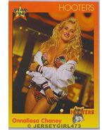 Onnaliesa Chaney 1994 Hooters Card #72 - $1.00