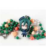 ReZer0 Crusch Karsten Anime Figure Necklace, Emerald Green, Coral, Silve... - $38.00