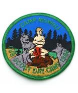Boy Scout Camp Mowgli Cub Scout Day Camp 1988 Camp Patch BSA - $8.38