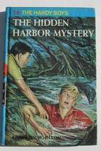 1978 Hardy Boys Hidden Harbor Mystery Book Hardcover #14 Good - £6.03 GBP