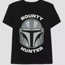 Mens Medium Black Boba Fett Bounty Hunter Graphic T-Shirt Cotton Blend S... - $14.99